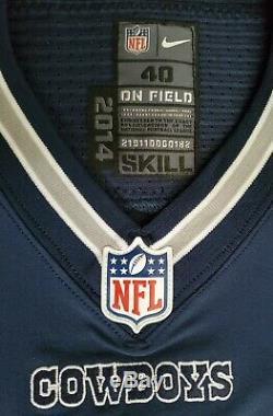 #15 Devin Street of Dallas Cowboys NFL Locker Room Game Issued Jersey