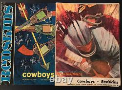 1960-71 Washington Redskins vs Dallas Cowboys Programs First 22 NFL Games