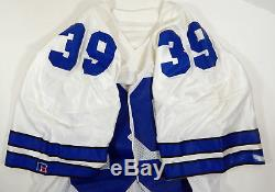 1990 Dallas Cowboys Bob Perryman #39 Game Issued White Jersey