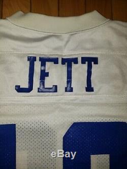 1994 John Jett Dallas Cowboys Game Used Apex One Jersey