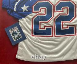 1995 Pro Bowl Emmitt Smith Game Worn & Autographed Vintage Certified Jersey