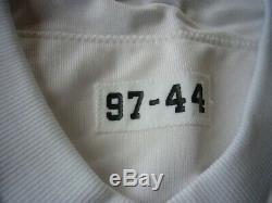 1997 Nike Deion Sanders Dallas Cowboys Pro Cut Game Football Jersey sz. 44 L vtg