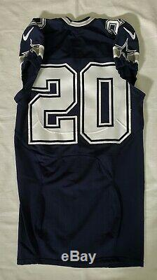 #20 No Name of Dallas Cowboys NFL Locker Room Game Issued Lightly Worn Jersey