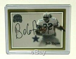 2000 Fleer Greats Of The Game Bob Hayes Authentic Auto Card Dallas Cowboys Gotg