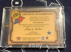 2000 Fleer Greats of the Game AUTOGRAPH Dallas Cowboys BULLET BOB HAYES Auto HOF