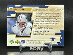 2000 UPPER DECK UD GAME JERSEY AUTO TROY AIKMAN ON-CARD AUTOGRAPH Dallas Cowboys