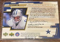 2000 Upper Deck UD Game Jersey Autograph Troy Aikman #TA-A Nice
