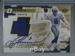 2000 Upper Deck UD Game Jersey Signed #TA-A Troy Aikman Dallas Cowboys Auto Card