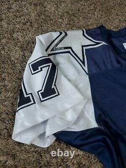 2001 Quincy Carter Dallas Cowboys Reebok Team Issued Jersey NFL Sz 48 Game
