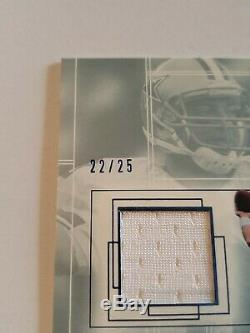 2001 Sp Game Used Troy Aikman Jersey Autograph Cowboys 22/25 RARE
