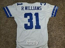 2002 Roy Williams Dallas Cowboys Reebok Team Issued Jersey NFL Sz 48 Game