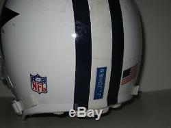 2006 Game Used Worn Schutt AiR Advan Football Helmet Dallas Cowboys Julius Jones