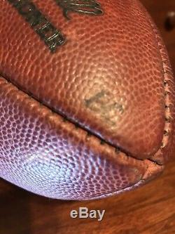 2007 Thanksgiving Day Dallas Cowboys Game Used Football