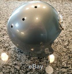 2008-2014 Austin Dallas Cowboys Game Worn Helmet Large Riddell