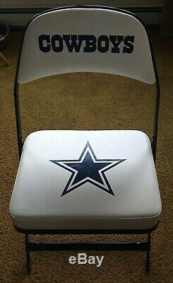 2008 Dallas Cowboys Game Used Locker Room Chair Steiner COA authentic