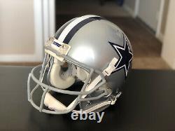 2008 Dallas Cowboys Game Worn Used NFL Football Helmet