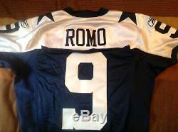 2009 Tony Romo Dallas Cowboys Game Issued Throw Back Jersey Made In USA