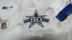2010 Anthony Spencer Dallas Cowboys Game Used Worn NFL Football Jersey! Purdue