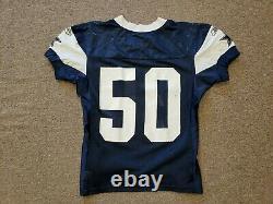 2010 Dallas Cowboys #50 Sean Lee Practice Jersey Worn In-Game
