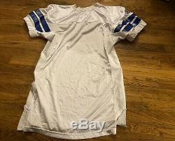2010 Dallas Cowboys Game Issued Blank White Jersey 48