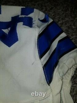 2012 Game Worn Used Nike Dallas Cowboys Gerald Sensabaugh Jersey Size 42