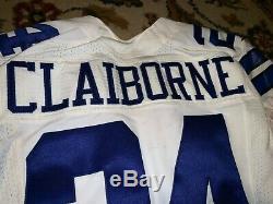 2013 Morris Claiborne #24 DALLAS Cowboys Game Worn Jersey Sz42 NIKE Flywire LSU