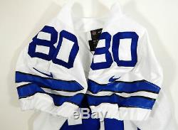 2014 Dallas Cowboys #80 Game Issued White Jersey