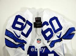 2014 Dallas Cowboys Jarrod Pughsley #60 Game Issued White Jersey