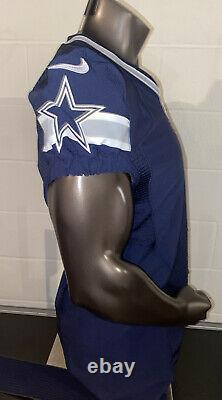 2014 Dallas Cowboys Nike Blank Game Style Navy Jersey Size 44 Plus Nameplate