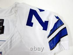 2014 Dallas Cowboys Uche Nwaneri #74 Game Issued White Jersey