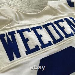 2014 Nike NFL Jersey Dallas Cowboys Brandon Weeded QB Team Game Issued Sz. 44