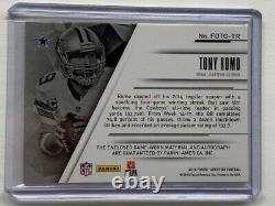 2015 Certified Fabric of the Game 25/25 Tony Romo #FOTG-TR Autograph