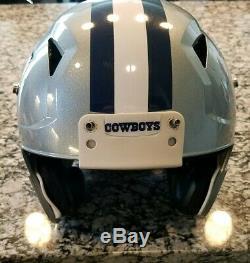 2016-2017 Dallas Cowboys Game Worn Helmet Riddell speed Med