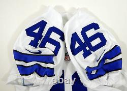 2016 Dallas Cowboys Alfred Morris #46 Game Issued White Jersey