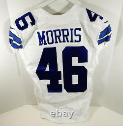 2016 Dallas Cowboys Alfred Morris #46 Game Issued White Jersey DAL00045