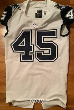 2016 Dallas Cowboys Game Issued Color Rush Jersey (Rod Smith)