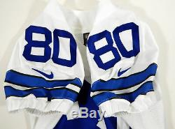 2016 Dallas Cowboys Rico Gathers #80 Game Issued White Jersey
