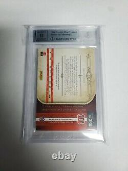 2016 National Treasures Andy Dalton 1/1 Game Used Captain Patch Cowboys