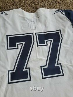2017 Blank Tyron Smith Dallas Cowboys Nike Team Issued NFL Jersey Sz 50 Game