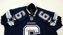 2017 Dallas Cowboys Andy Jones #6 Game Issued Navy Jersey