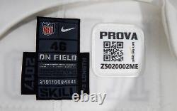 2017 Dallas Cowboys Cooper Rush #7 Game Issued White Jersey Color Rush DP09405