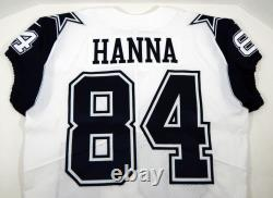 2017 Dallas Cowboys James Hanna #84 Game Issued White Jersey Color Rush DP09431