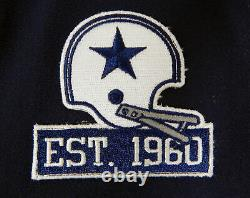 2017 Dallas Cowboys Kai Forbath #3 Game Issued Navy Jersey EST 1960 Patch 496