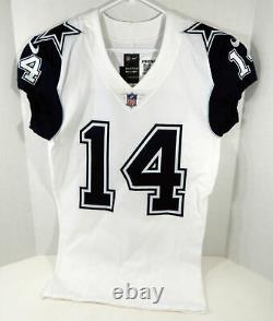 2017 Dallas Cowboys Lance Lenior #14 Game Issued White Jersey Color Rush DP09393
