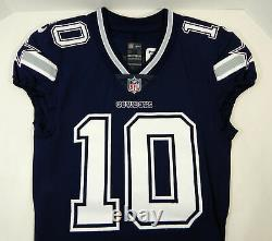2017 Dallas Cowboys Ryan Switzer #10 Game Issued Navy Jersey 535