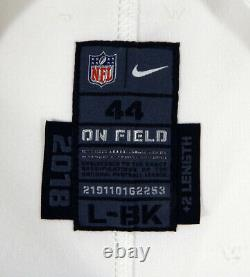 2018 Dallas Cowboys #45 Game Issued White Jersey DP09336
