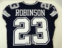 2018 Dallas Cowboys Tyree Robinson #23 Game Issued Navy Jersey