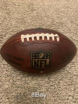 2018 Game Used Dallas Cowboys Authentic NFL Football