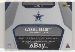 2019 Certified Fabric of the Game Signatures Prime /5 Ezekiel Elliott Auto