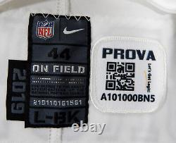 2019 Dallas Cowboys Noah Brown #85 Game Issued White Jersey Color Rush 100 P 30